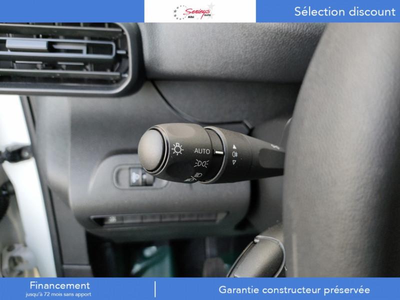 Photo 4 de l'offre de PEUGEOT PARTNER PRO BLUEHDI 100 2PL 600 KG STD à 19480€ chez Garage Serieys Auto