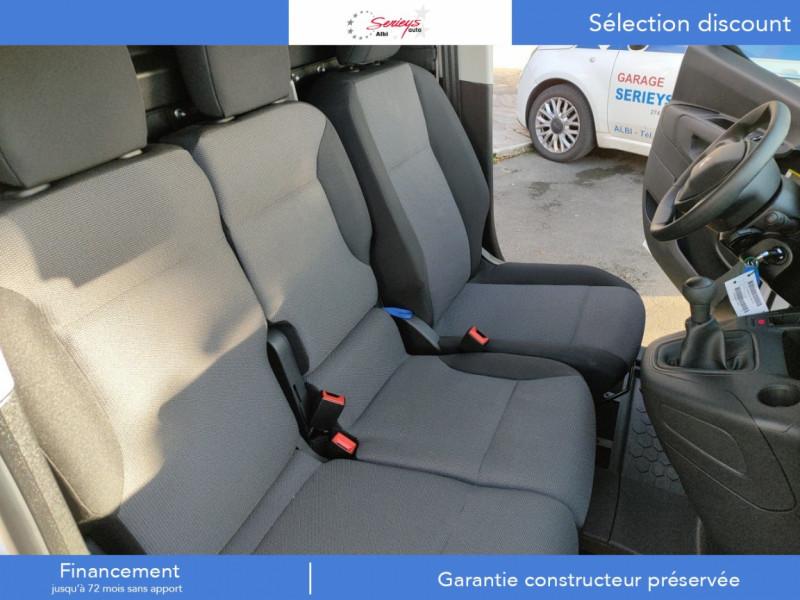 Photo 2 de l'offre de PEUGEOT PARTNER PRO BLUEHDI 100 STD 650 KG 3 PL à 20180€ chez Garage Serieys Auto