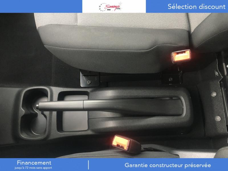Photo 13 de l'offre de PEUGEOT PARTNER PRO BLUEHDI 100 2PL 600 KG STD à 19480€ chez Garage Serieys Auto