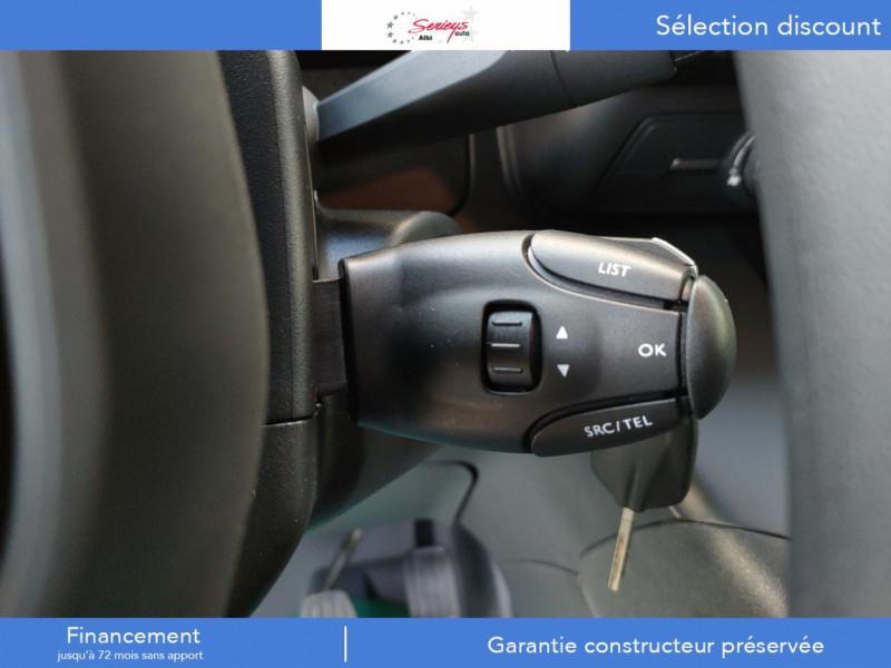 Photo 12 de l'offre de PEUGEOT PARTNER PRO BLUEHDI 100 STD 650 KG 3 PL à 20180€ chez Garage Serieys Auto