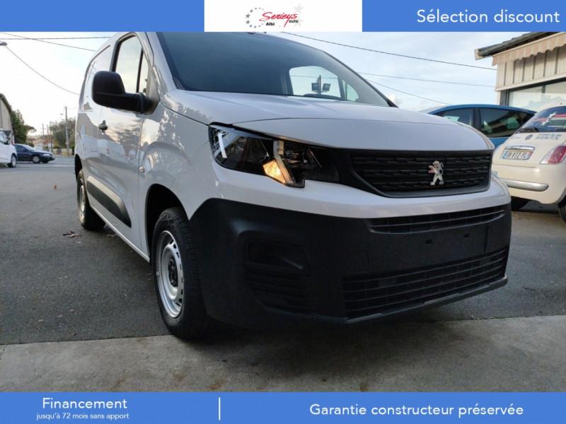 Photo 5 de l'offre de PEUGEOT PARTNER PRO BLUEHDI 100 STD 650 KG 3 PL à 20180€ chez Garage Serieys Auto