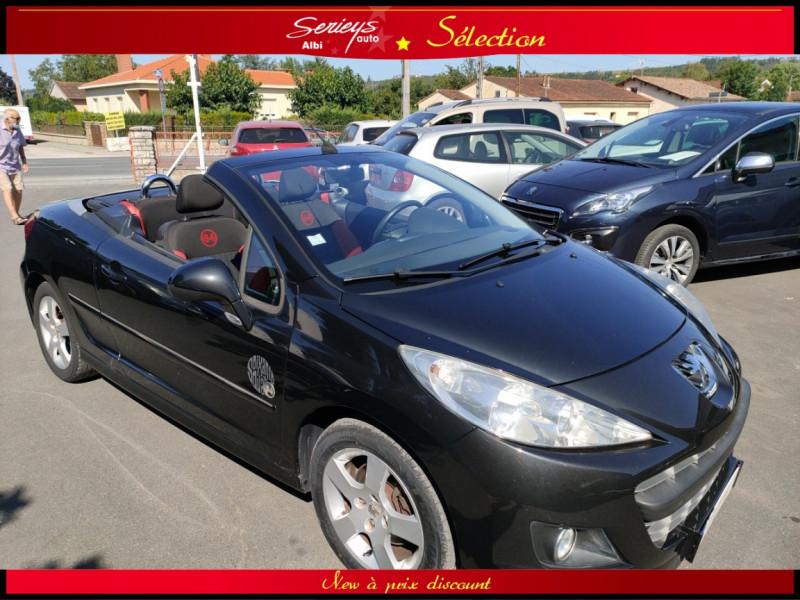 Peugeot 207 CC Série 64 1.6 HDi 112  Diesel NOIR Occasion à vendre