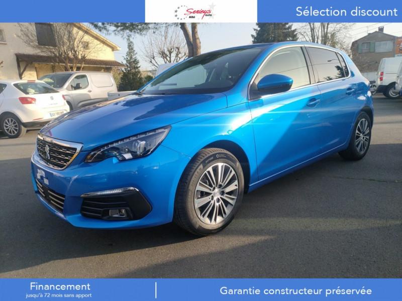 Peugeot 308 Allure Pack BlueHDi 130 EAT8 Led+JA16 Diesel BLEU VERTIGO NACRE Neuf à vendre