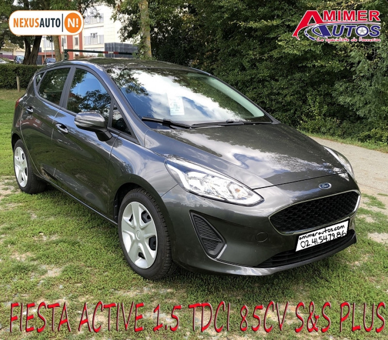 Ford FIESTA ACTIVE 1.5 TDCI 85CH S&S PLUS EURO6.1 Diesel GRIS Occasion à vendre