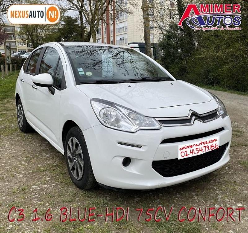 Photo 2 de l'offre de CITROEN C3 1.6 BLUEHDI75 CONFORT à 7490€ chez Amimer autos