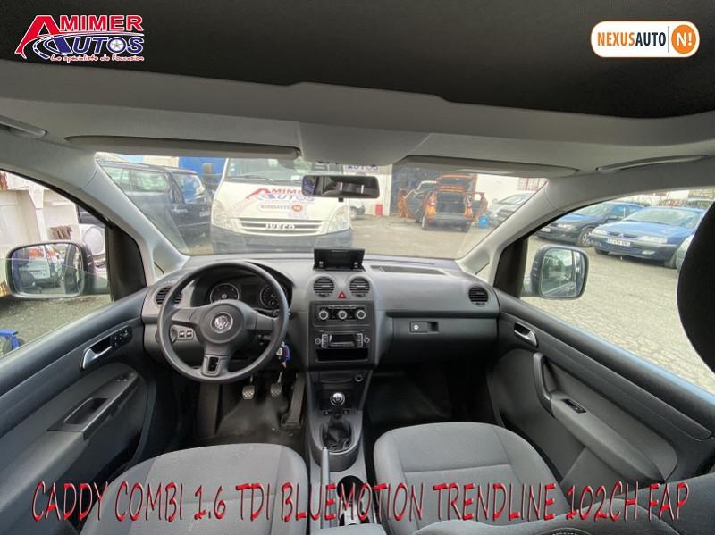 Photo 5 de l'offre de VOLKSWAGEN CADDY 1.6 TDI 102CH BLUEMOTION TRENDLINE à 12900€ chez Amimer autos