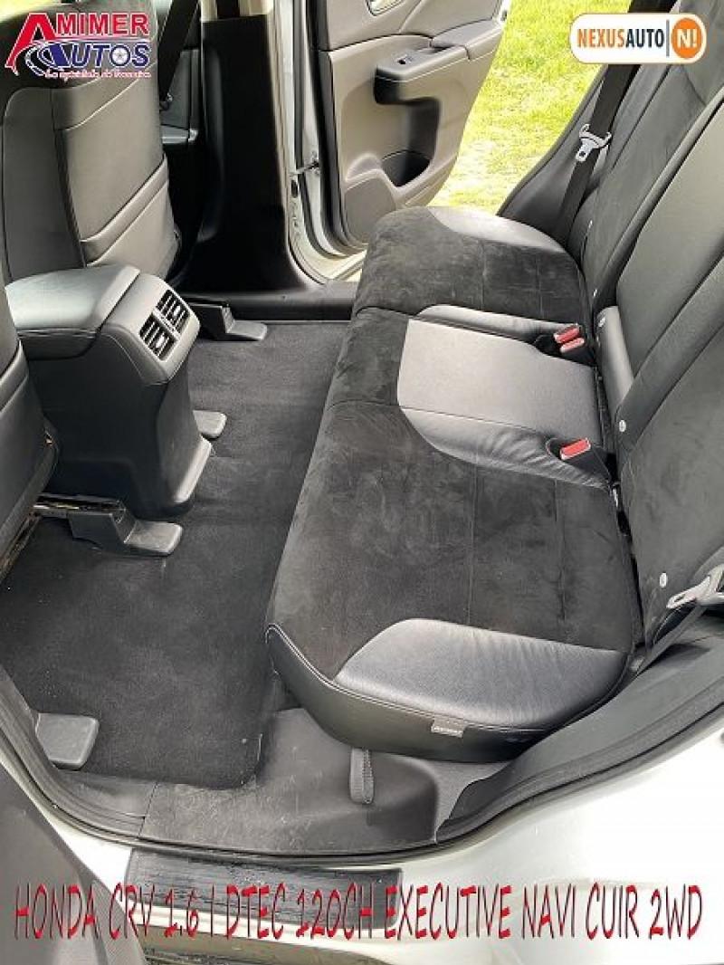 Photo 6 de l'offre de HONDA CR-V 1.6 I-DTEC 120CH EXECUTIVE NAVI CUIR 2WD à 12200€ chez Amimer autos