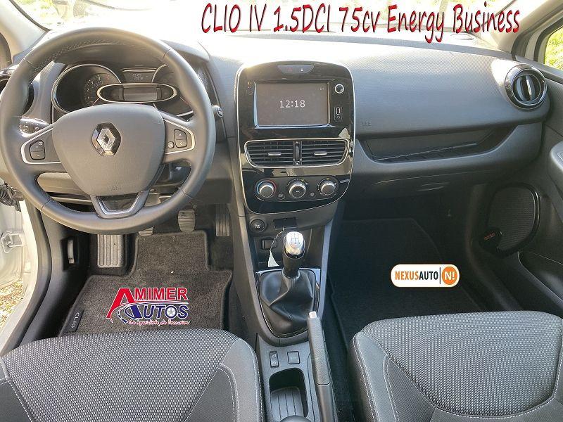 Photo 5 de l'offre de RENAULT CLIO IV 1.5 DCI 75CH ENERGY BUSINESS 5P à 11490€ chez Amimer autos