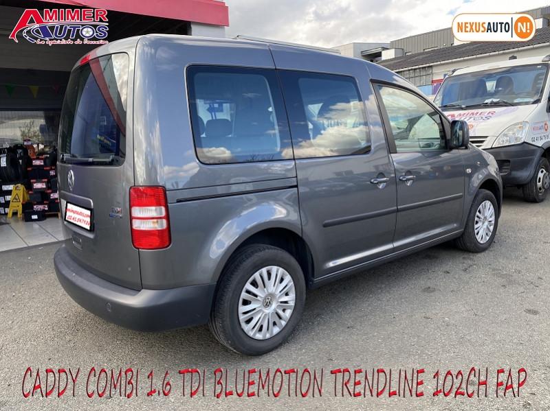 Photo 4 de l'offre de VOLKSWAGEN CADDY 1.6 TDI 102CH BLUEMOTION TRENDLINE à 12900€ chez Amimer autos