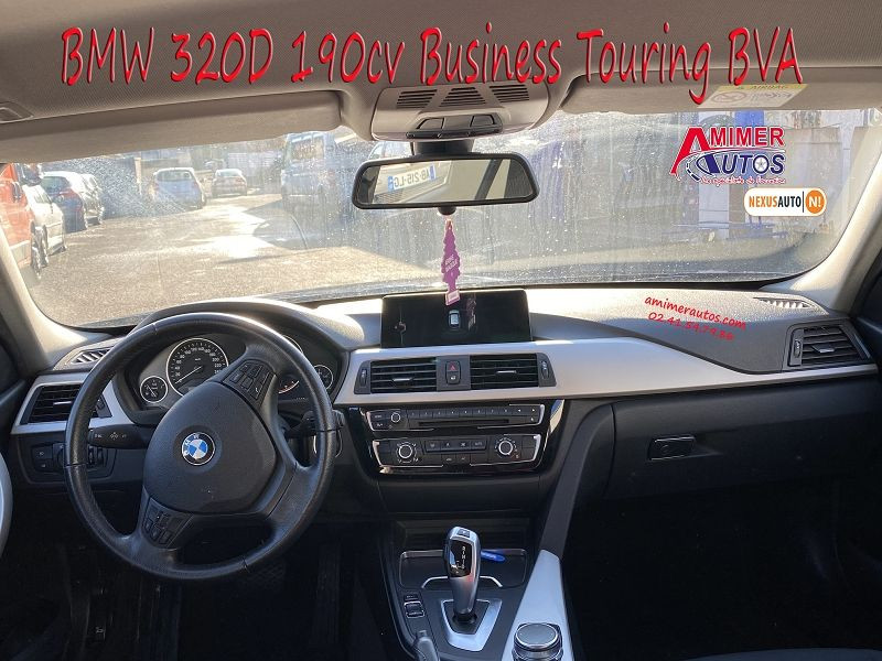 Photo 5 de l'offre de BMW SERIE 3 TOURING (F31) 320DA 190CH BUSINESS à 18900€ chez Amimer autos