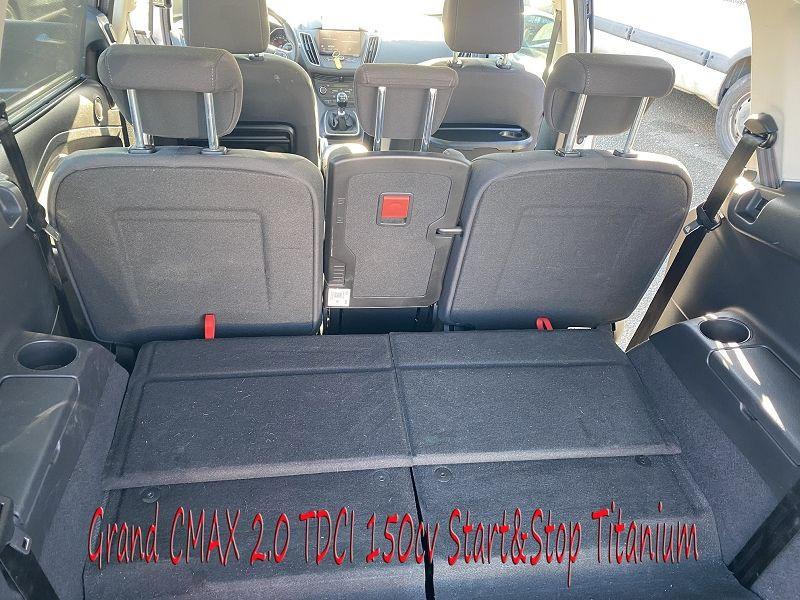 Photo 8 de l'offre de FORD GRAND C-MAX 2.0 TDCI 150CH STOP&START TITANIUM 7 PLACES à 14490€ chez Amimer autos