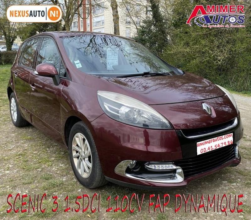Photo 2 de l'offre de RENAULT SCENIC III 1.5 DCI 110CH FAP DYNAMIQUE à 6490€ chez Amimer autos