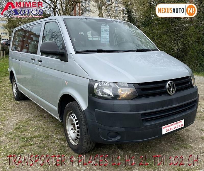 Volkswagen TRANSPORTER L2H1 2.0 TDI 102CH Diesel GRIS Occasion à vendre