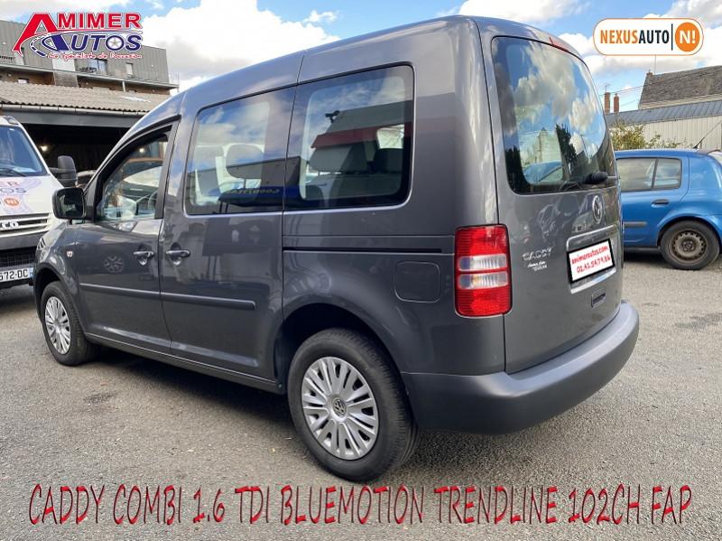 Photo 3 de l'offre de VOLKSWAGEN CADDY 1.6 TDI 102CH BLUEMOTION TRENDLINE à 12900€ chez Amimer autos