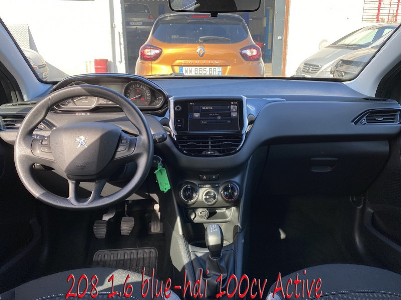 Photo 5 de l'offre de PEUGEOT 208 1.6 BLUEHDI 100CH ACTIVE 5P à 10990€ chez Amimer autos