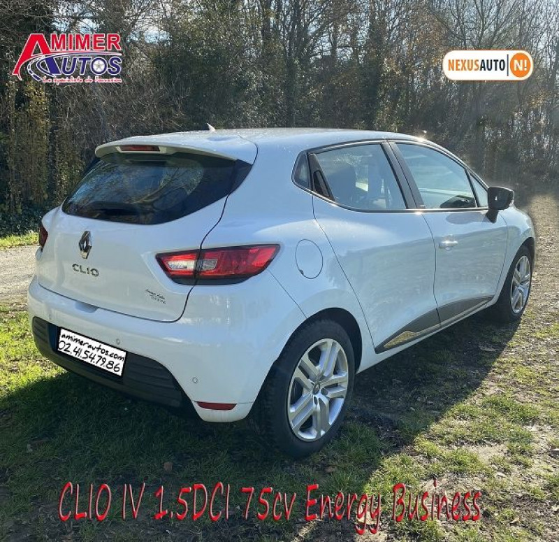 Photo 4 de l'offre de RENAULT CLIO IV 1.5 DCI 75CH ENERGY BUSINESS 5P à 11490€ chez Amimer autos