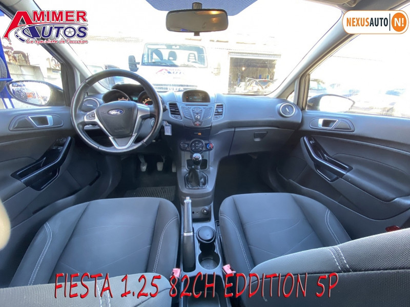 Photo 5 de l'offre de FORD FIESTA 1.25 82CH EDITION 5P à 8690€ chez Amimer autos