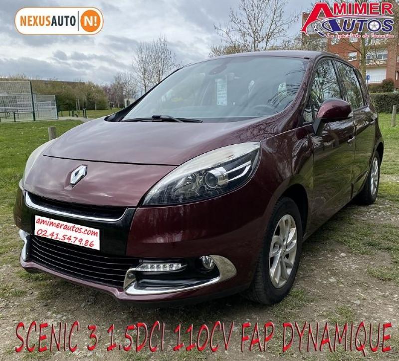 Renault SCENIC III 1.5 DCI 110CH FAP DYNAMIQUE Diesel AUBERGINE Occasion à vendre