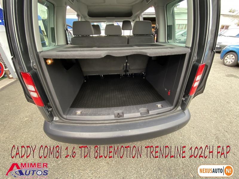 Photo 6 de l'offre de VOLKSWAGEN CADDY 1.6 TDI 102CH BLUEMOTION TRENDLINE à 12900€ chez Amimer autos