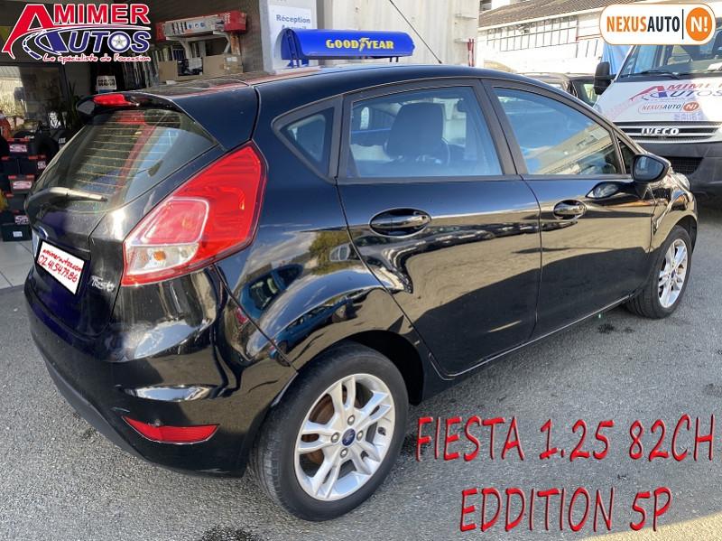 Photo 3 de l'offre de FORD FIESTA 1.25 82CH EDITION 5P à 8690€ chez Amimer autos