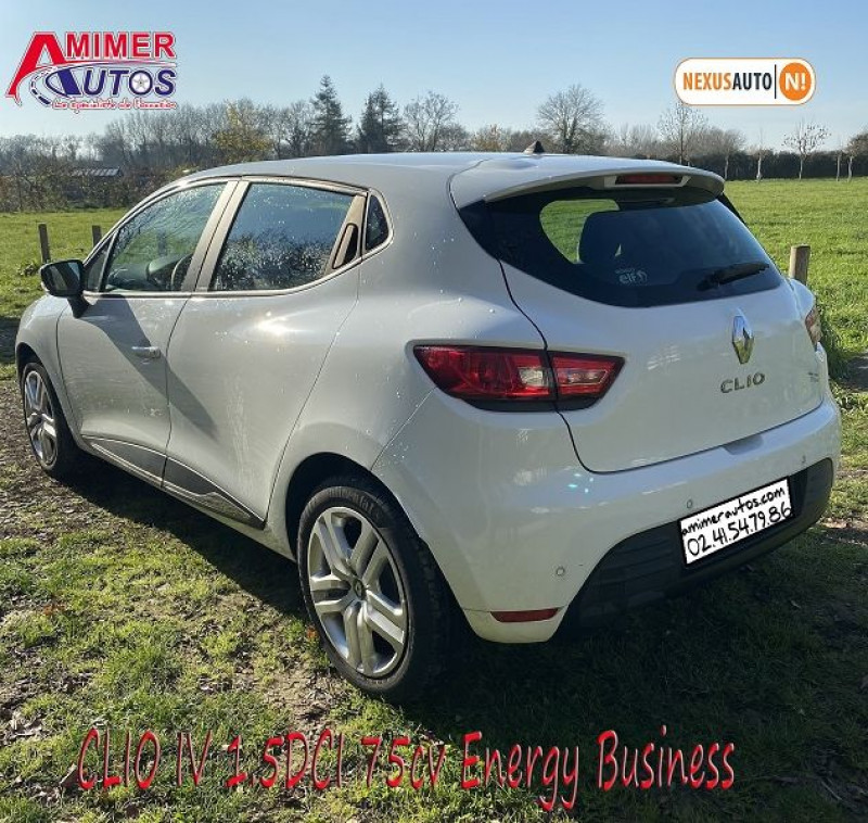 Photo 3 de l'offre de RENAULT CLIO IV 1.5 DCI 75CH ENERGY BUSINESS 5P à 11490€ chez Amimer autos