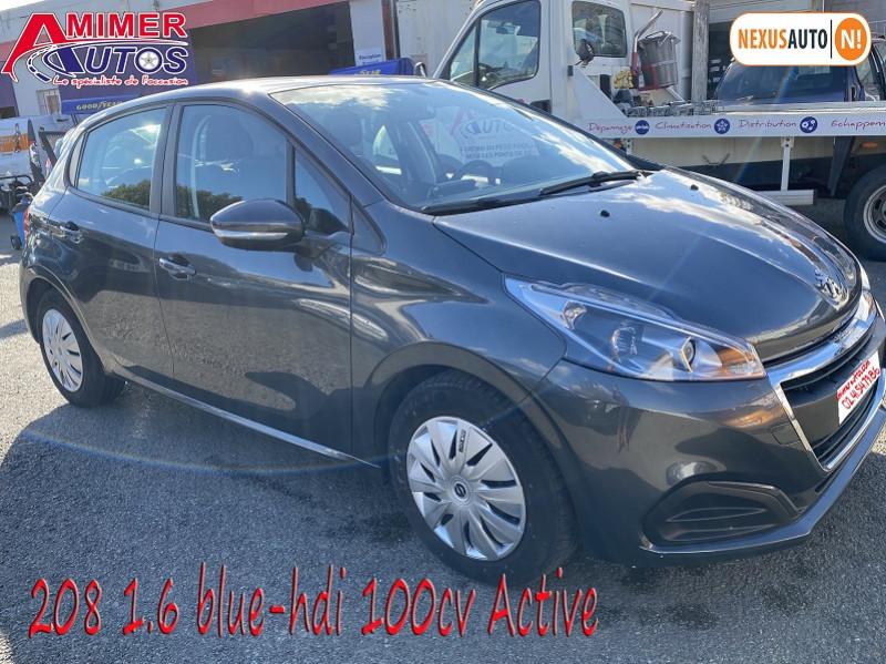 Photo 2 de l'offre de PEUGEOT 208 1.6 BLUEHDI 100CH ACTIVE 5P à 10990€ chez Amimer autos