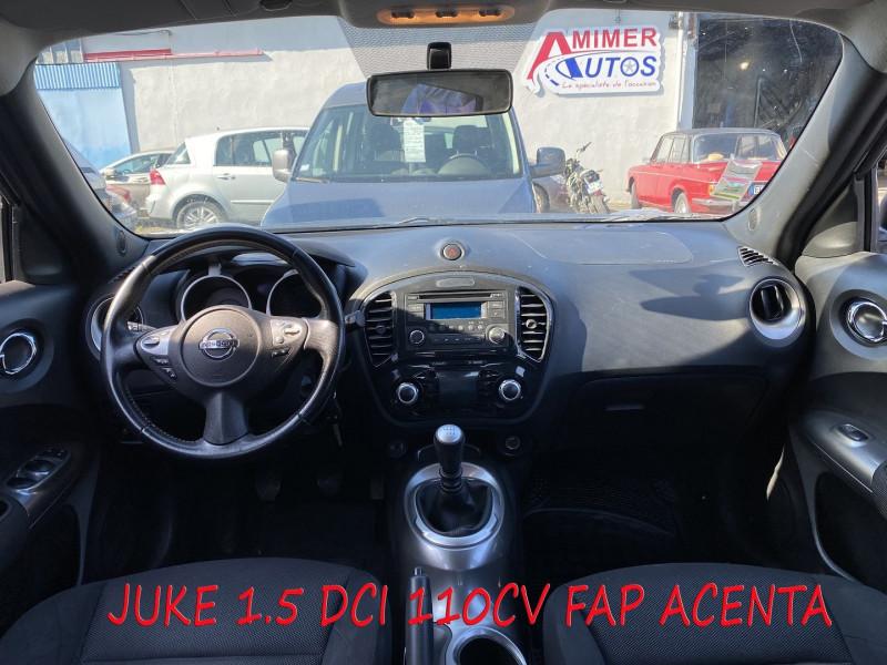 Photo 5 de l'offre de NISSAN JUKE 1.5 DCI 110CH FAP ACENTA à 7990€ chez Amimer autos