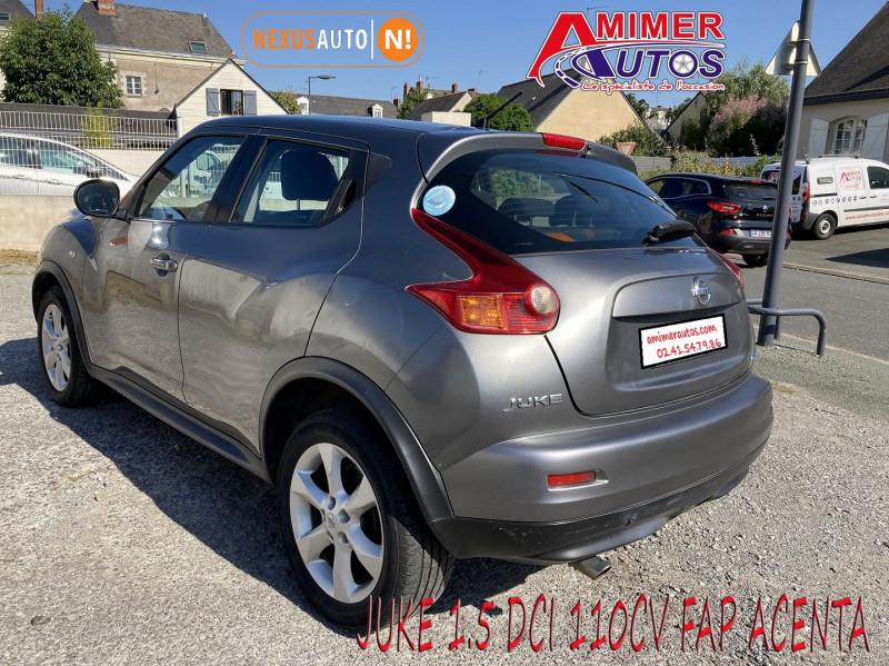 Photo 4 de l'offre de NISSAN JUKE 1.5 DCI 110CH FAP ACENTA à 7990€ chez Amimer autos
