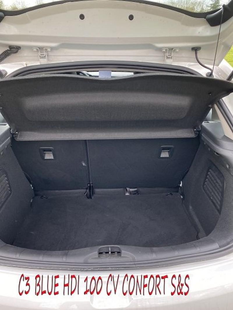 Photo 8 de l'offre de CITROEN C3 BLUEHDI 100 CONFORT S&S à 8490€ chez Amimer autos