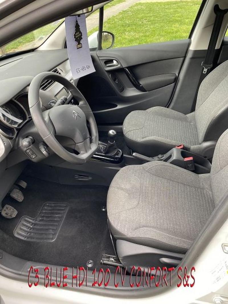 Photo 6 de l'offre de CITROEN C3 BLUEHDI 100 CONFORT S&S à 8490€ chez Amimer autos