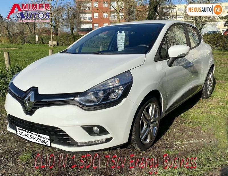 Photo 1 de l'offre de RENAULT CLIO IV 1.5 DCI 75CH ENERGY BUSINESS 5P à 11490€ chez Amimer autos