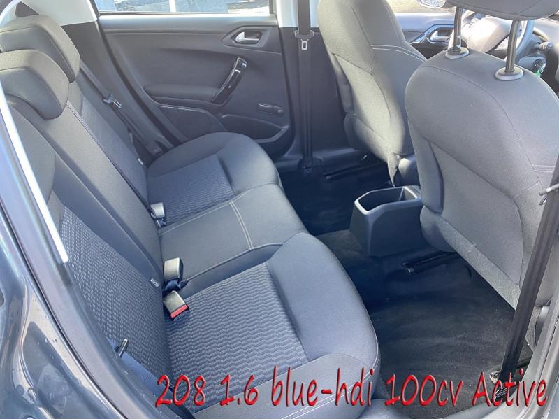 Photo 6 de l'offre de PEUGEOT 208 1.6 BLUEHDI 100CH ACTIVE 5P à 10990€ chez Amimer autos