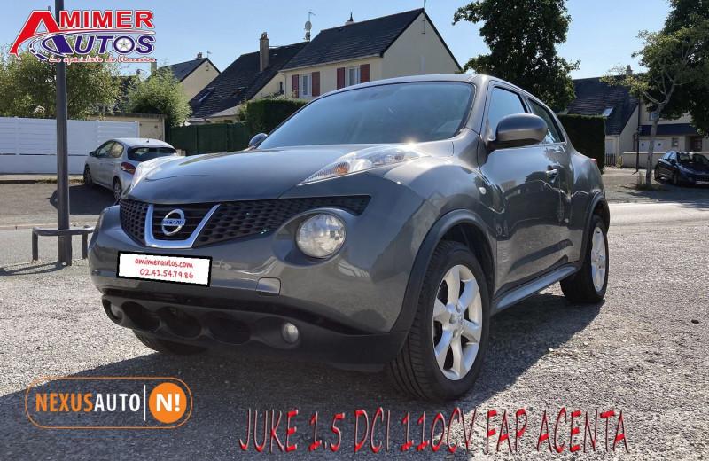 Photo 1 de l'offre de NISSAN JUKE 1.5 DCI 110CH FAP ACENTA à 7990€ chez Amimer autos