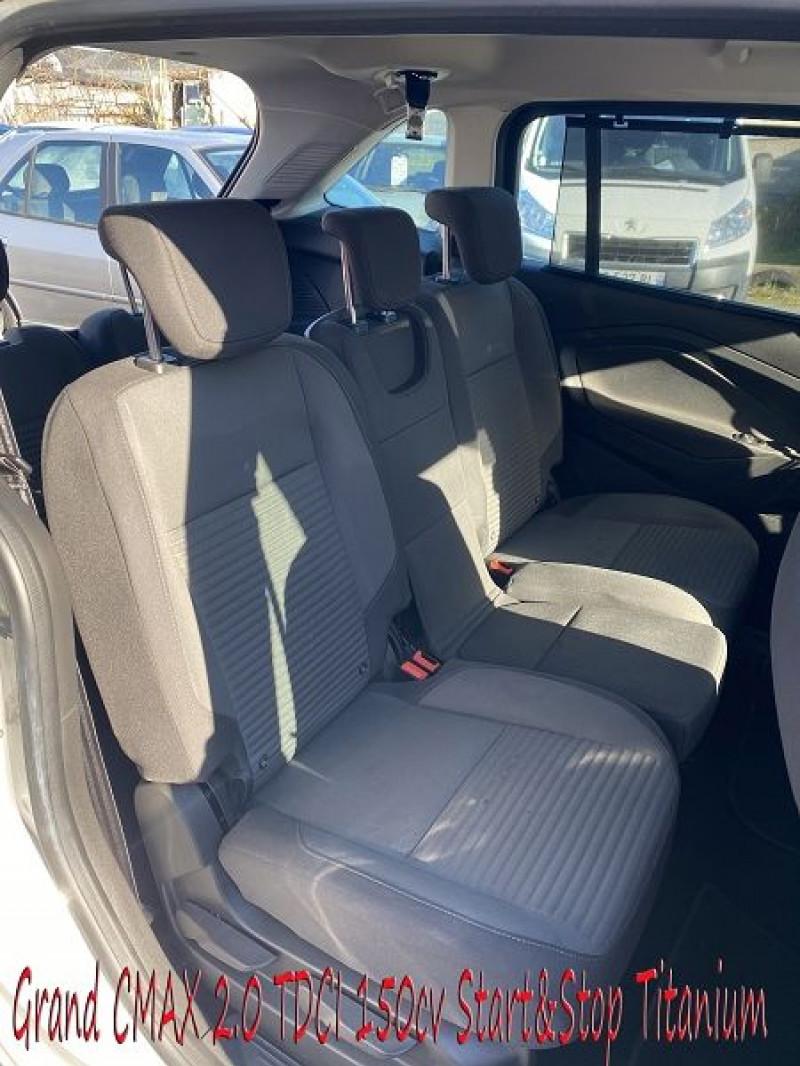 Photo 7 de l'offre de FORD GRAND C-MAX 2.0 TDCI 150CH STOP&START TITANIUM 7 PLACES à 14490€ chez Amimer autos