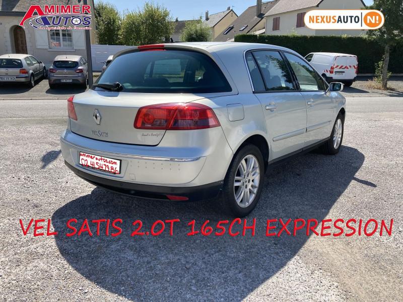 Photo 3 de l'offre de RENAULT VEL SATIS 2.0T 165CH EXPRESSION à 4990€ chez Amimer autos