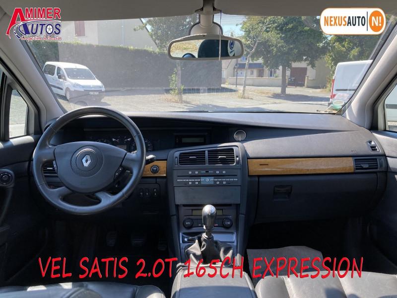 Photo 5 de l'offre de RENAULT VEL SATIS 2.0T 165CH EXPRESSION à 4990€ chez Amimer autos