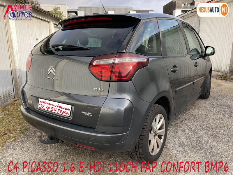 Photo 3 de l'offre de CITROEN C4 PICASSO 1.6 E-HDI 110CH FAP CONFORT BMP6 à 6490€ chez Amimer autos