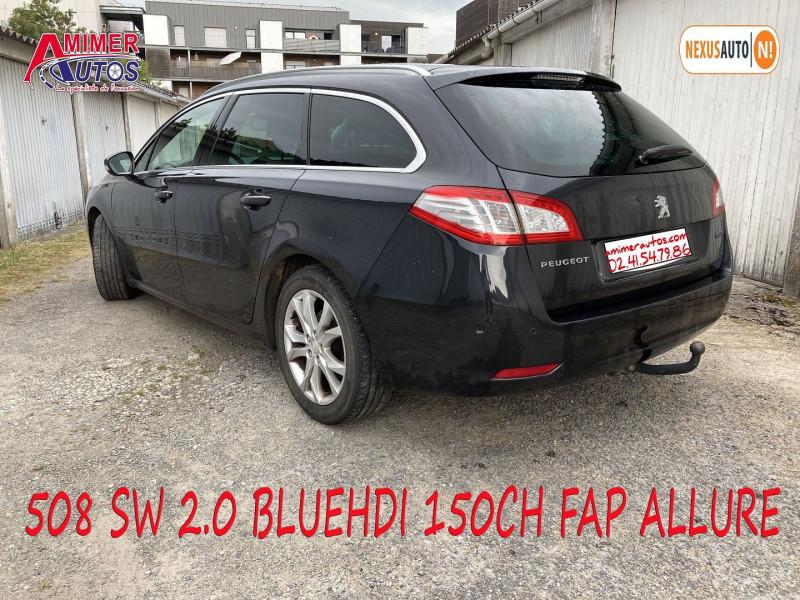 Photo 4 de l'offre de PEUGEOT 508 SW 2.0 BLUEHDI 150CH FAP ALLURE à 11990€ chez Amimer autos