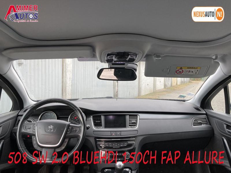 Photo 5 de l'offre de PEUGEOT 508 SW 2.0 BLUEHDI 150CH FAP ALLURE à 11990€ chez Amimer autos