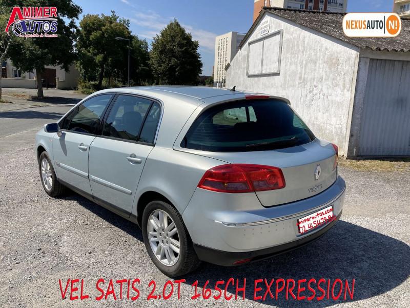 Photo 4 de l'offre de RENAULT VEL SATIS 2.0T 165CH EXPRESSION à 4990€ chez Amimer autos