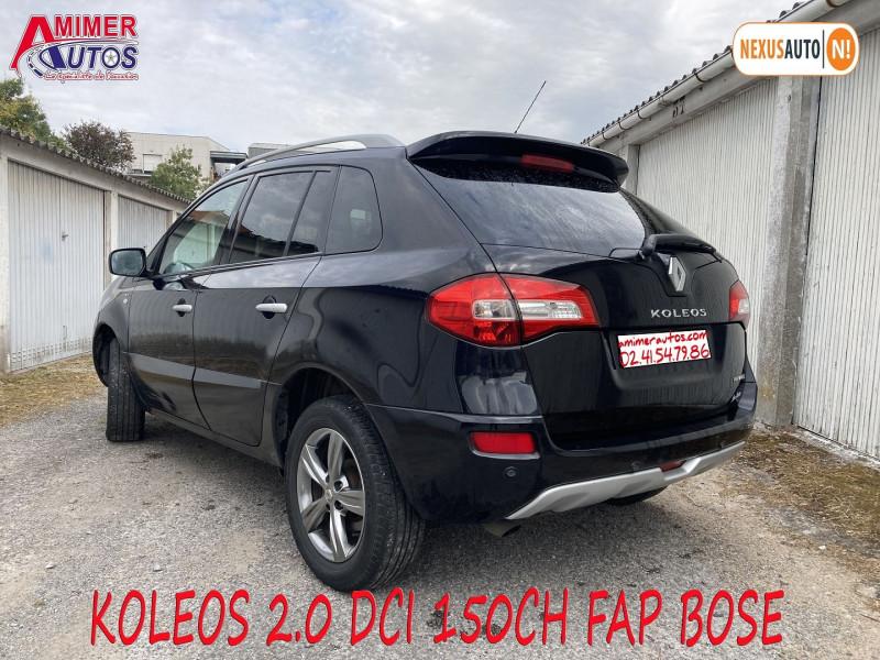 Photo 4 de l'offre de RENAULT KOLEOS 2.0 DCI 150CH FAP BOSE à 7890€ chez Amimer autos
