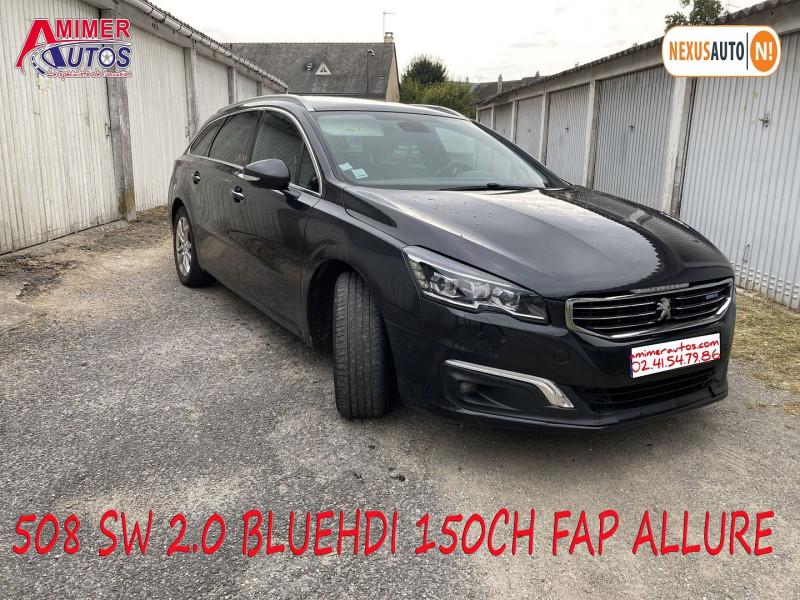 Photo 1 de l'offre de PEUGEOT 508 SW 2.0 BLUEHDI 150CH FAP ALLURE à 11990€ chez Amimer autos