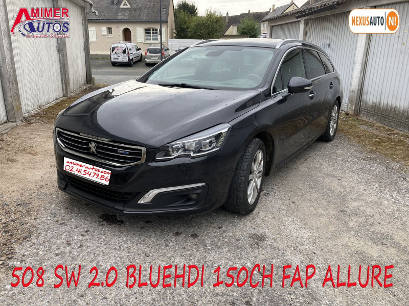 Photo 2 de l'offre de PEUGEOT 508 SW 2.0 BLUEHDI 150CH FAP ALLURE à 11990€ chez Amimer autos
