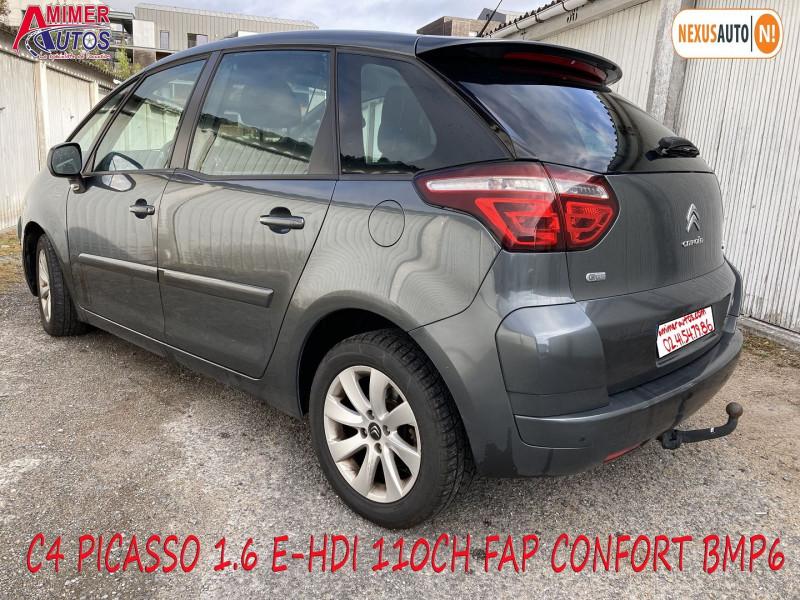 Photo 4 de l'offre de CITROEN C4 PICASSO 1.6 E-HDI 110CH FAP CONFORT BMP6 à 6490€ chez Amimer autos