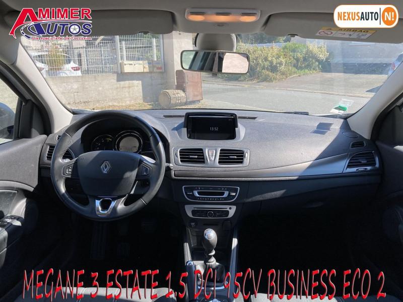 Photo 5 de l'offre de RENAULT MEGANE III ESTATE 1.5 DCI 95CH BUSINESS ECO² 2015 à 5990€ chez Amimer autos
