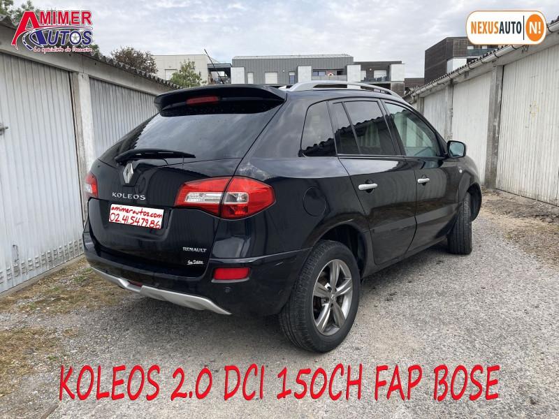 Photo 3 de l'offre de RENAULT KOLEOS 2.0 DCI 150CH FAP BOSE à 7890€ chez Amimer autos