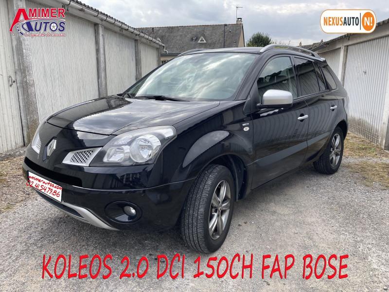 Renault KOLEOS 2.0 DCI 150CH FAP BOSE Diesel NOIR Occasion à vendre