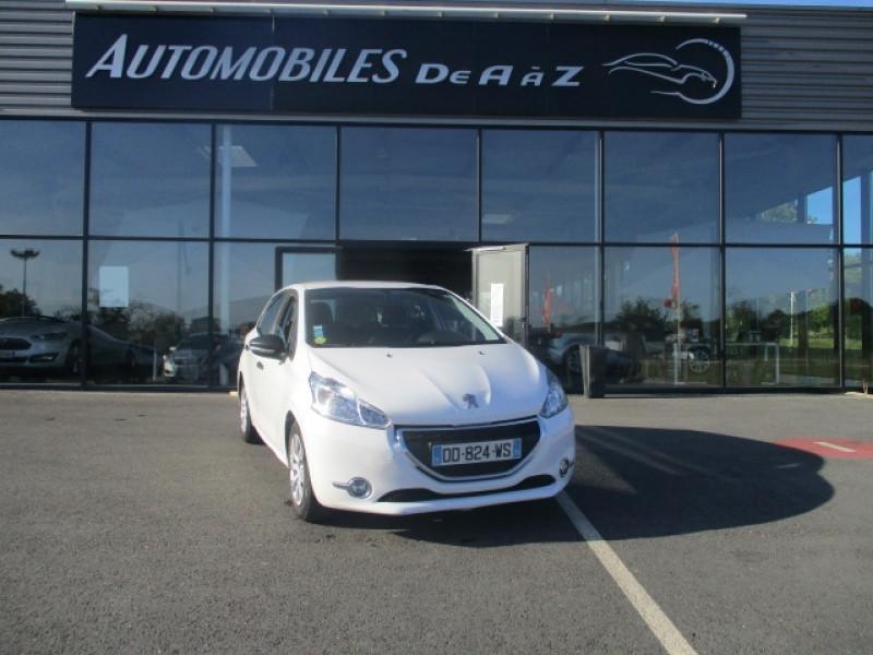 Peugeot 208 1.4 HDI 68 FAP PACK CD CLIM 5P Diesel BLANC Occasion à vendre
