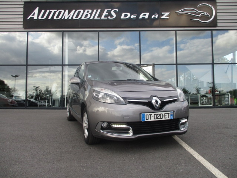 Renault GRAND SCENIC III 1.5 DCI 110CH ENERGY BUSINESS ECO² 7 PLACES 2015 Diesel GRIS Occasion à vendre