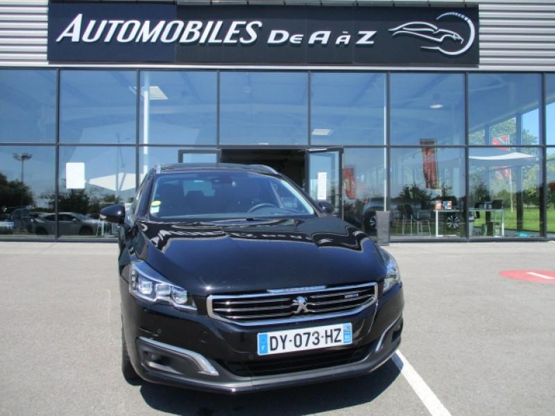 Peugeot 508 SW 2.0 BLUEHDI 180CH FAP ALLURE EAT6 Diesel NOIR Occasion à vendre